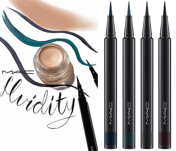 MAC Fluidity Holiday 2015 Makeup Line