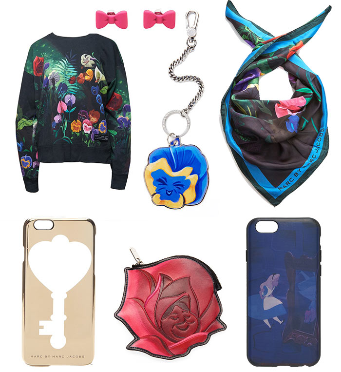 Marc by Marc Jacobs Alice In Wonderland Capsule Collection