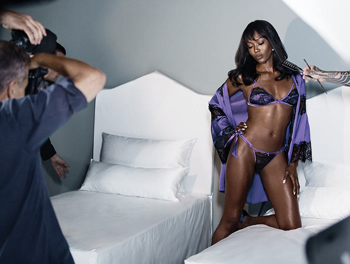 Naomi Campbell for Yamamay Lingerie Collection 2015