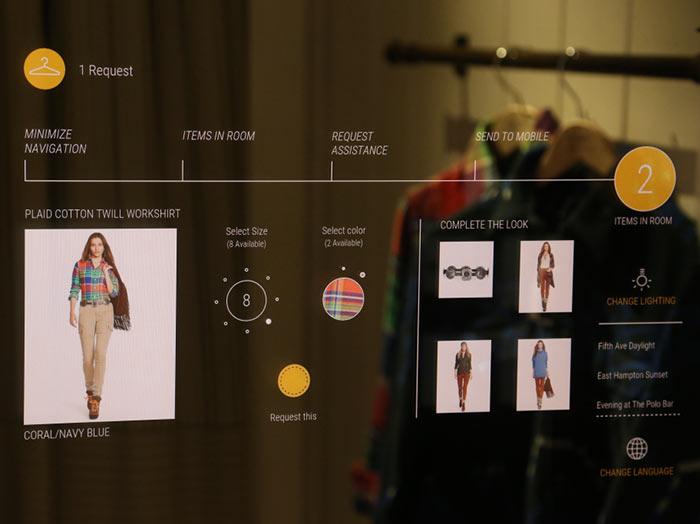Ralph Lauren Debuts Interactive Fitting Room