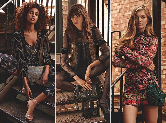 Topshop Holiday 2015 Campaign