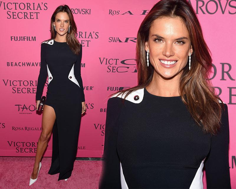 Victoria's Secret Fashion Show 2015 Pink Carpet: Alessandro Ambrosio