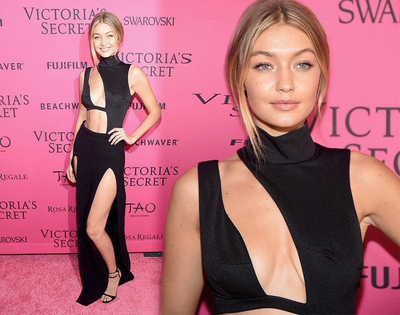 Victoria's Secret Fashion Show 2015 Pink Carpet: Gigi Hadid