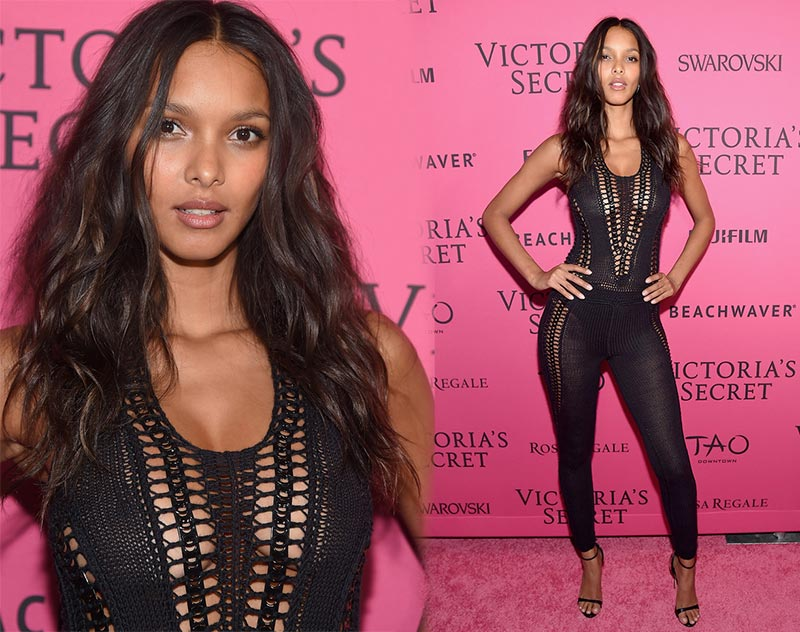 Victoria's Secret Fashion Show 2015 Pink Carpet: Lais Ribeiro