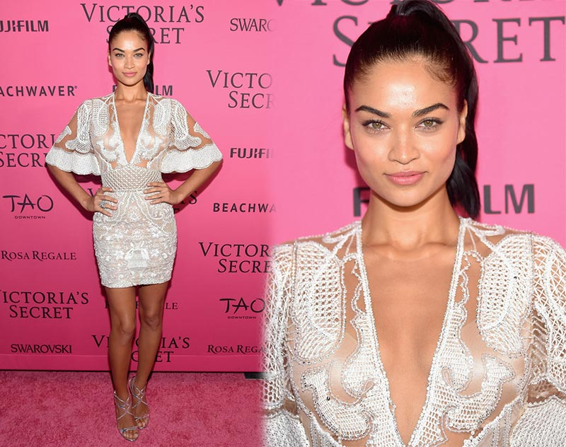 Victoria's Secret Fashion Show 2015 Pink Carpet: Shanina Shaik