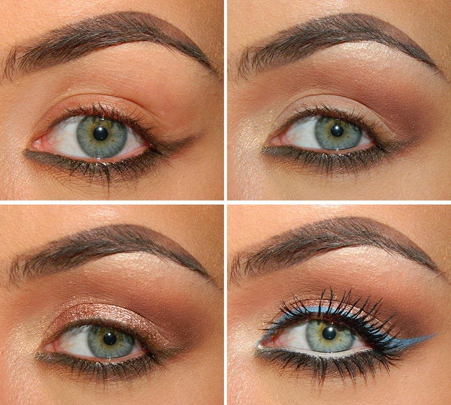 Metallic Eye Makeup Tutorial for Fall