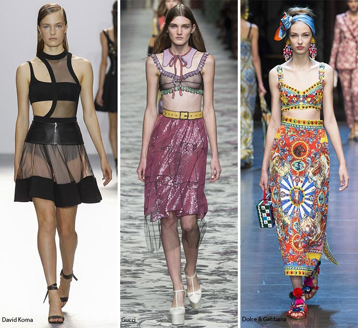 Spring/ Summer 2016 Fashion Trends: Bra-Like Tops & Bandeaus