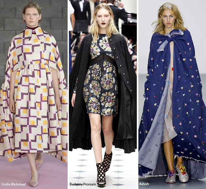 Spring/ Summer 2016 Fashion Trends: Capes
