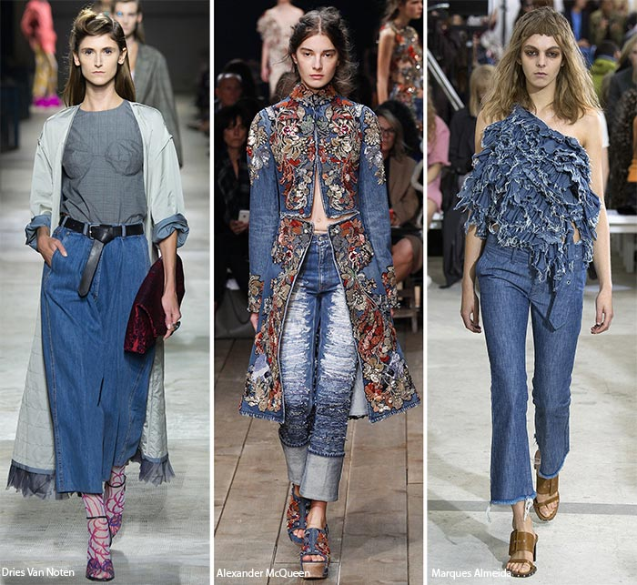 Denim Trends Spring Summer 2016