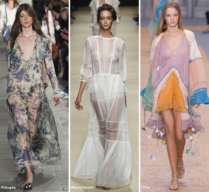 Spring/ Summer 2016 Fashion Trends: Feminine, Romantic Fashion