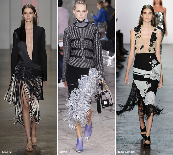 Spring/ Summer 2016 Fashion Trends: Fringed Hems