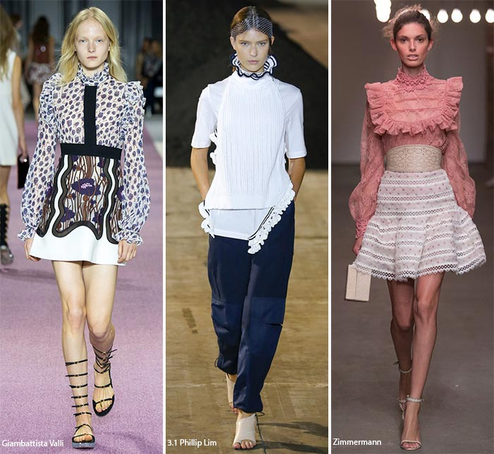 Spring/ Summer 2016 Fashion Trends: Full Coverage Necklines