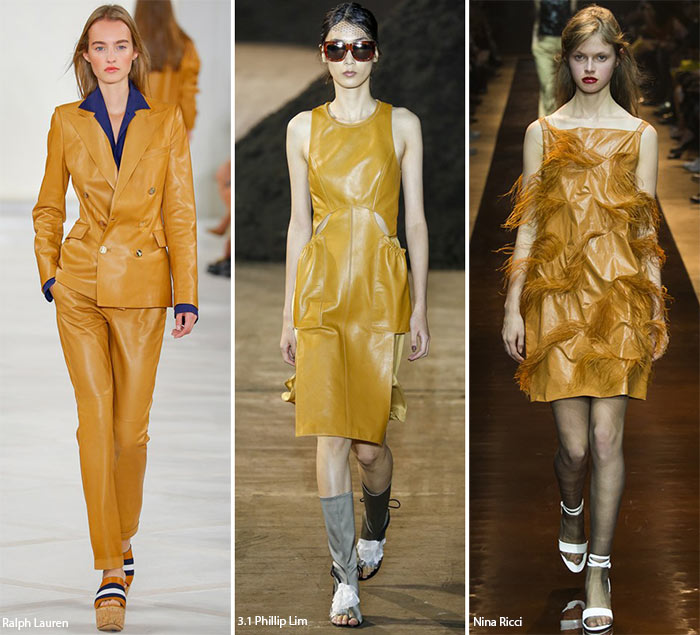 Spring/ Summer 2016 Fashion Trends: Leather