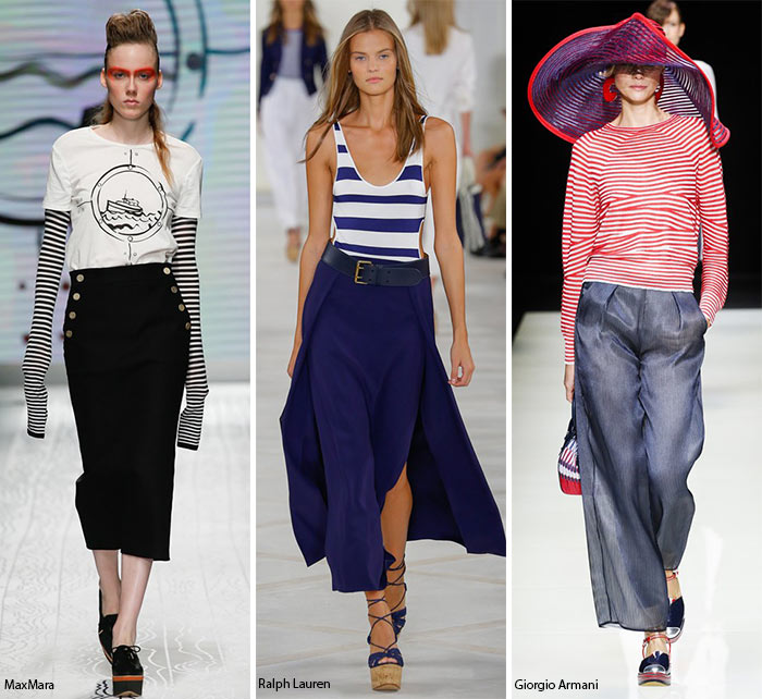 Spring/ Summer 2016 Fashion Trends: Nautical Theme