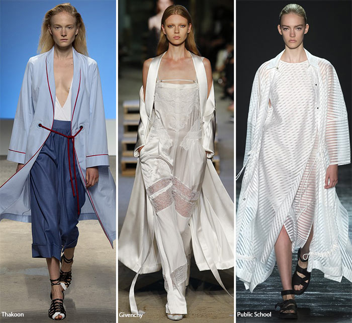 Spring/ Summer 2016 Fashion Trends: Robes