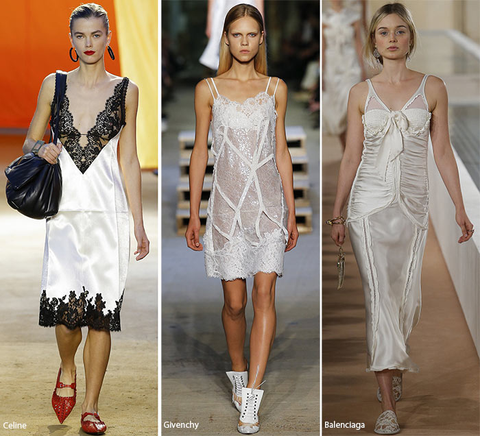 Spring/ Summer 2016 Fashion Trends: Slip/ Lingerie Fashion Trend