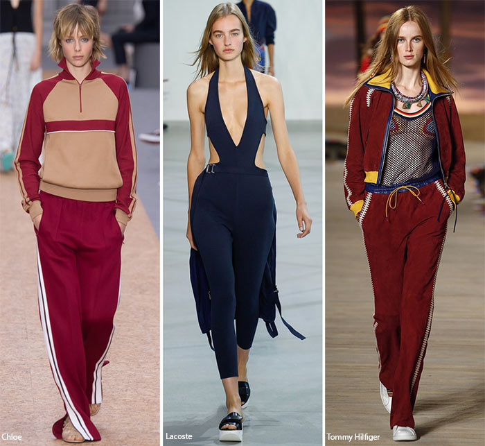 Spring/ Summer 2016 Fashion Trends: Sporty Chic