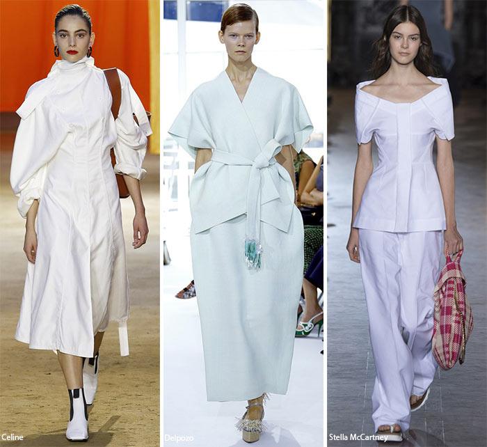 Spring/ Summer 2016 Fashion Trends: Textured White