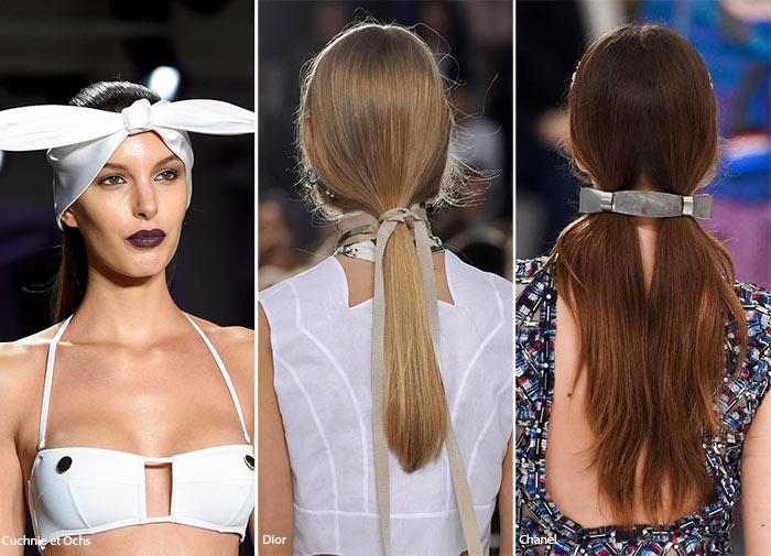 Spring/ Summer 2016 Hair Accessory Trends: Bows & Ribbons