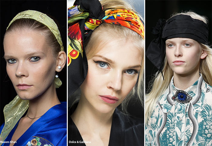 Spring/ Summer 2016 Hair Accessory Trends: Headscarves & Turbans