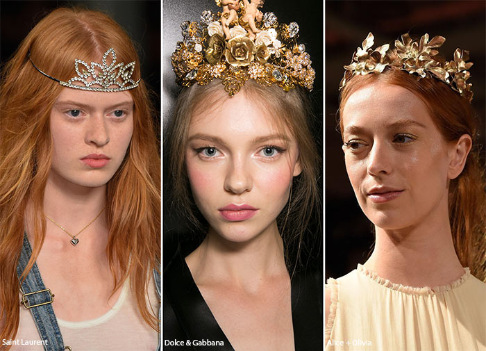 Spring/ Summer 2016 Hair Accessory Trends: Tiaras