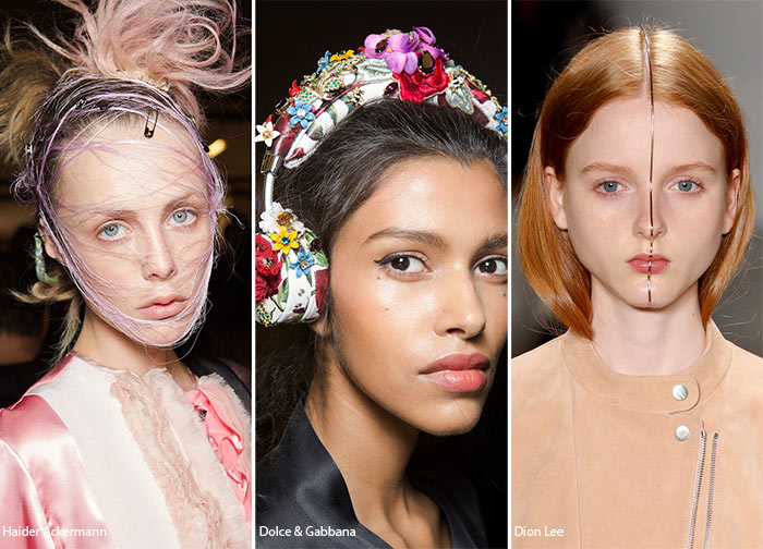 Spring/ Summer 2016 Hair Accessory Trends: Unconventional Hair Accessories