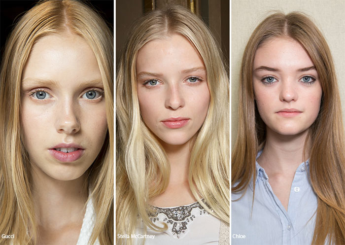 Spring/ Summer 2016 Hairstyle Trends: Center-Part Hairstyles