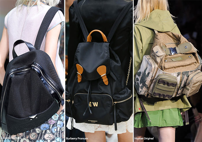 329acf0c6ef7 Spring  Summer 2016 Handbag Trends  Backpacks