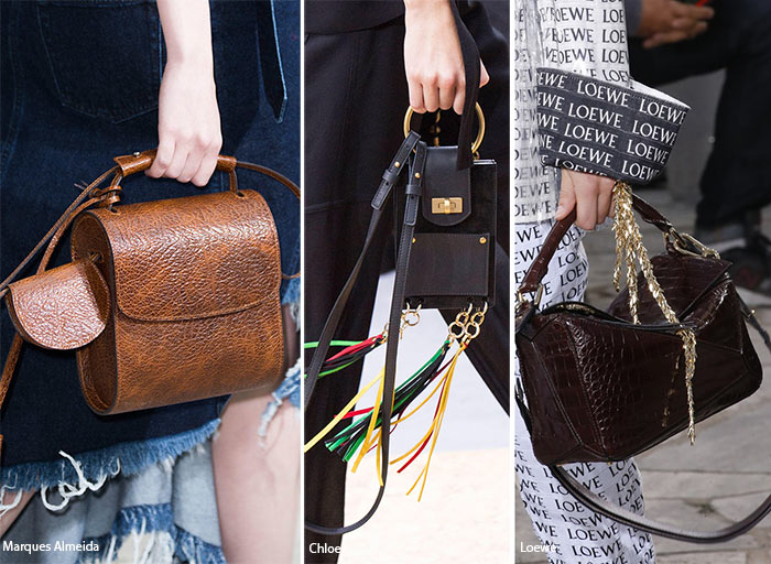 Spring/ Summer 2016 Handbag Trends: Bags with Top Handles and Shoulder Straps