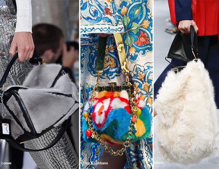Spring  Summer 2016 Handbag Trends  Fur Bags 18ea21d314eb6