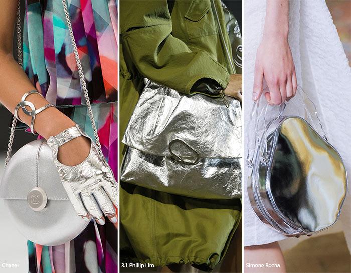 Spring/ Summer 2016 Handbag Trends: Metallic Bags