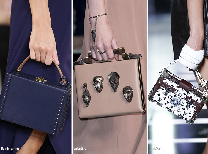 Spring/ Summer 2016 Handbag Trends: Square Bags