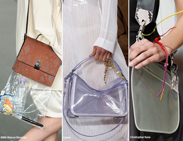 Spring/ Summer 2016 Handbag Trends: Transparent Bags