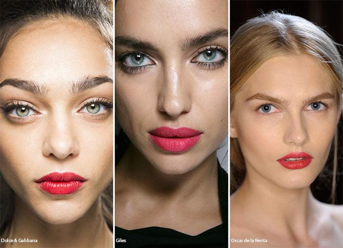Spring/ Summer 2016 Makeup Trends: Candy Apple Lipstick