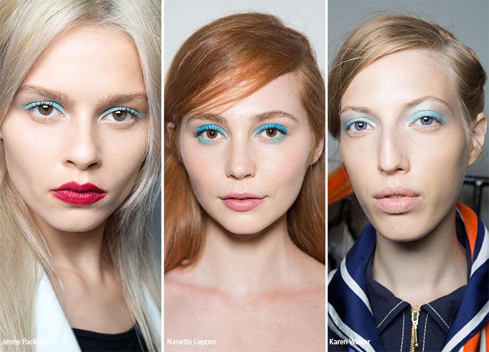 Spring/ Summer 2016 Makeup Trends: Blue Eye Makeup