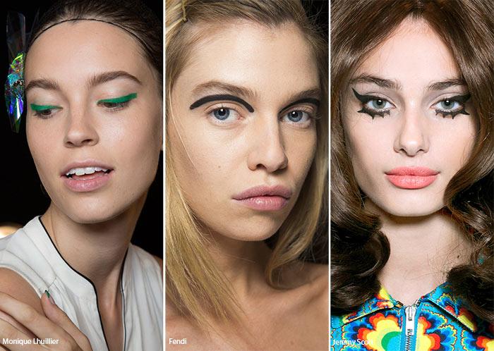 Spring/ Summer 2016 Makeup Trends: Bold eyeliner Flicks