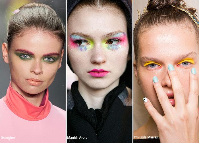 Spring/ Summer 2016 Makeup Trends: Colorful Eye Makeup