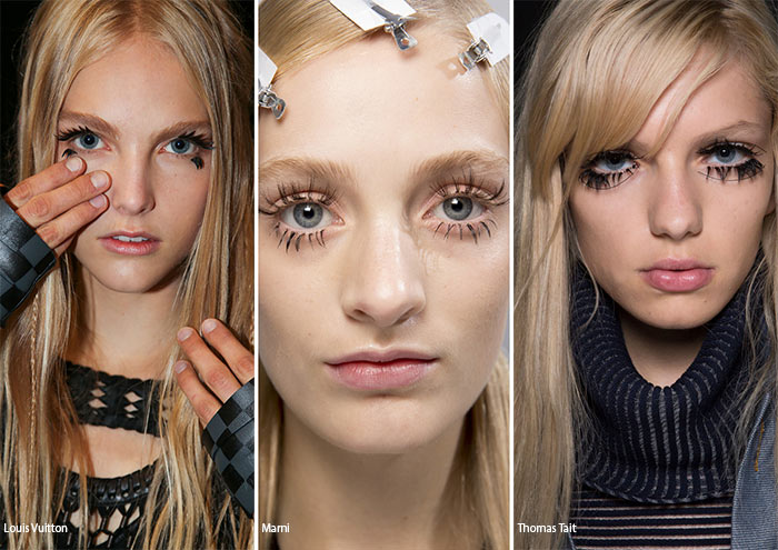 Spring/ Summer 2016 Makeup Trends: Doll-Like Eyelashes