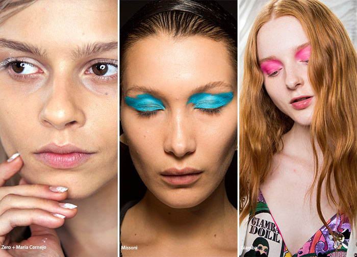 Spring/ Summer 2016 Makeup Trends: Unevenly Applied Eye Makeup
