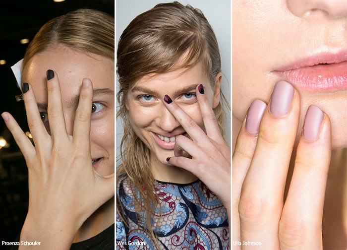 Spring/ Summer 2016 Nail Trends: Matte Manicure