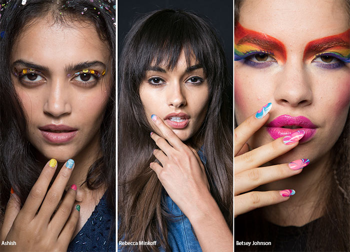 Spring/ Summer 2016 Nail Trends: Rainbow & Sunset Nails