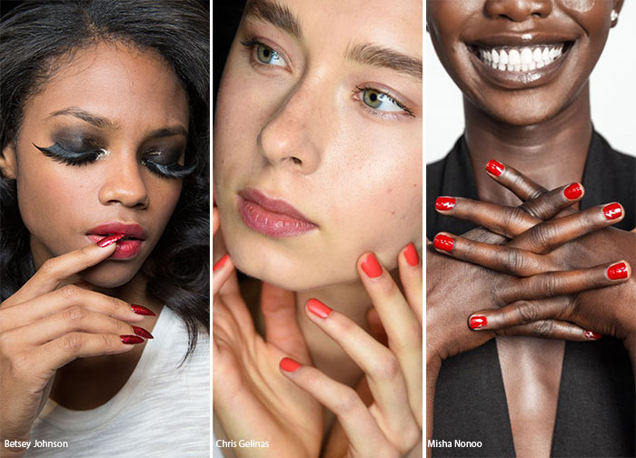 Spring/ Summer 2016 Nail Trends: Red Manicure