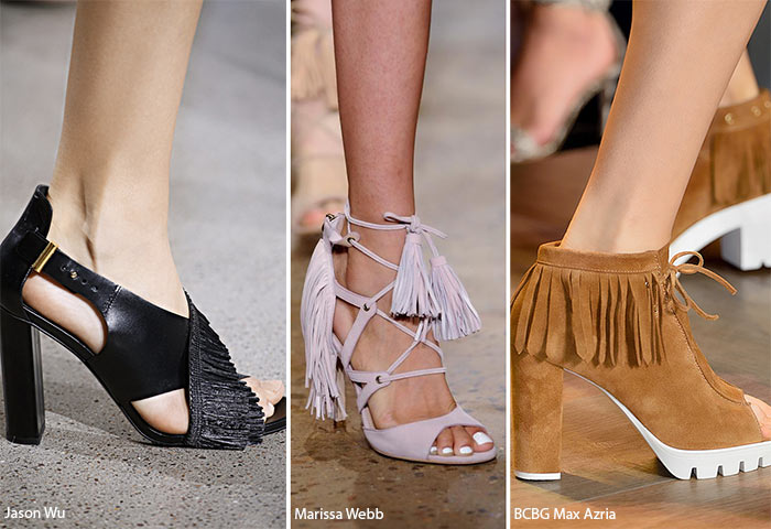 Spring/ Summer 2016 Shoe Trends: Fringed Shoes