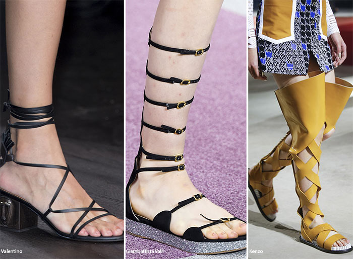 Spring/ Summer 2016 Shoe Trends: Gladiator Sandals