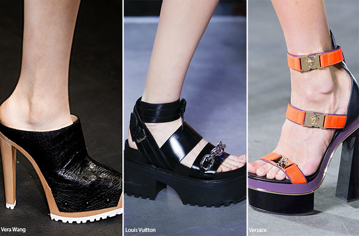 Spring/ Summer 2016 Shoe Trends: Heavy Shoes
