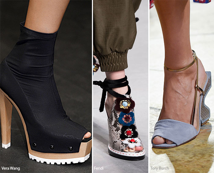Spring/ Summer 2016 Shoe Trends: Peep-Toe Shoes