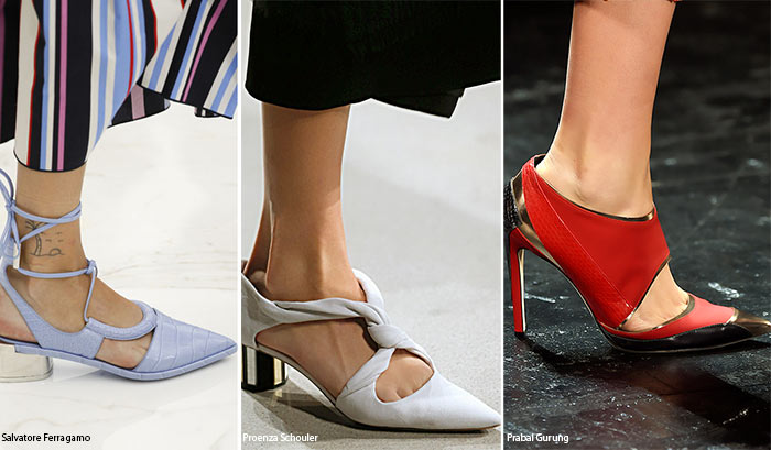 Spring/ Summer 2016 Shoe Trends: Pointy-Toe Shoes