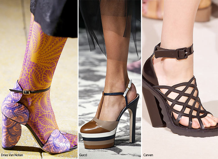 Spring/ Summer 2016 Shoe Trends: Shoes with Ankle Straps
