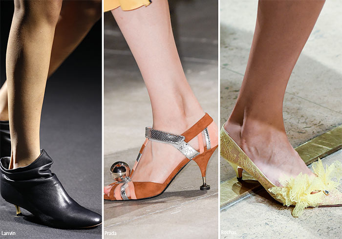 Spring/ Summer 2016 Shoe Trends: Shoes with Kitten Heels