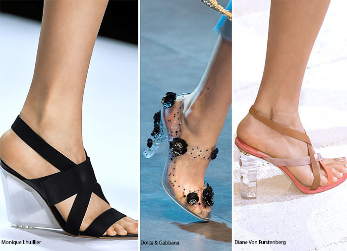Spring/ Summer 2016 Shoe Trends: Shoes With Lucite Heels